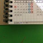 来年用の手作り手帳、作成開始