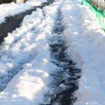 太陽の偉大さを感じた雪の朝のPENTAX KP作例