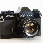 PENTAX ES フィルムカメラの外観レビュー