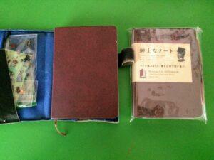 コクヨの「紳士のノート」を使ってセパレート手帳を作ったよ