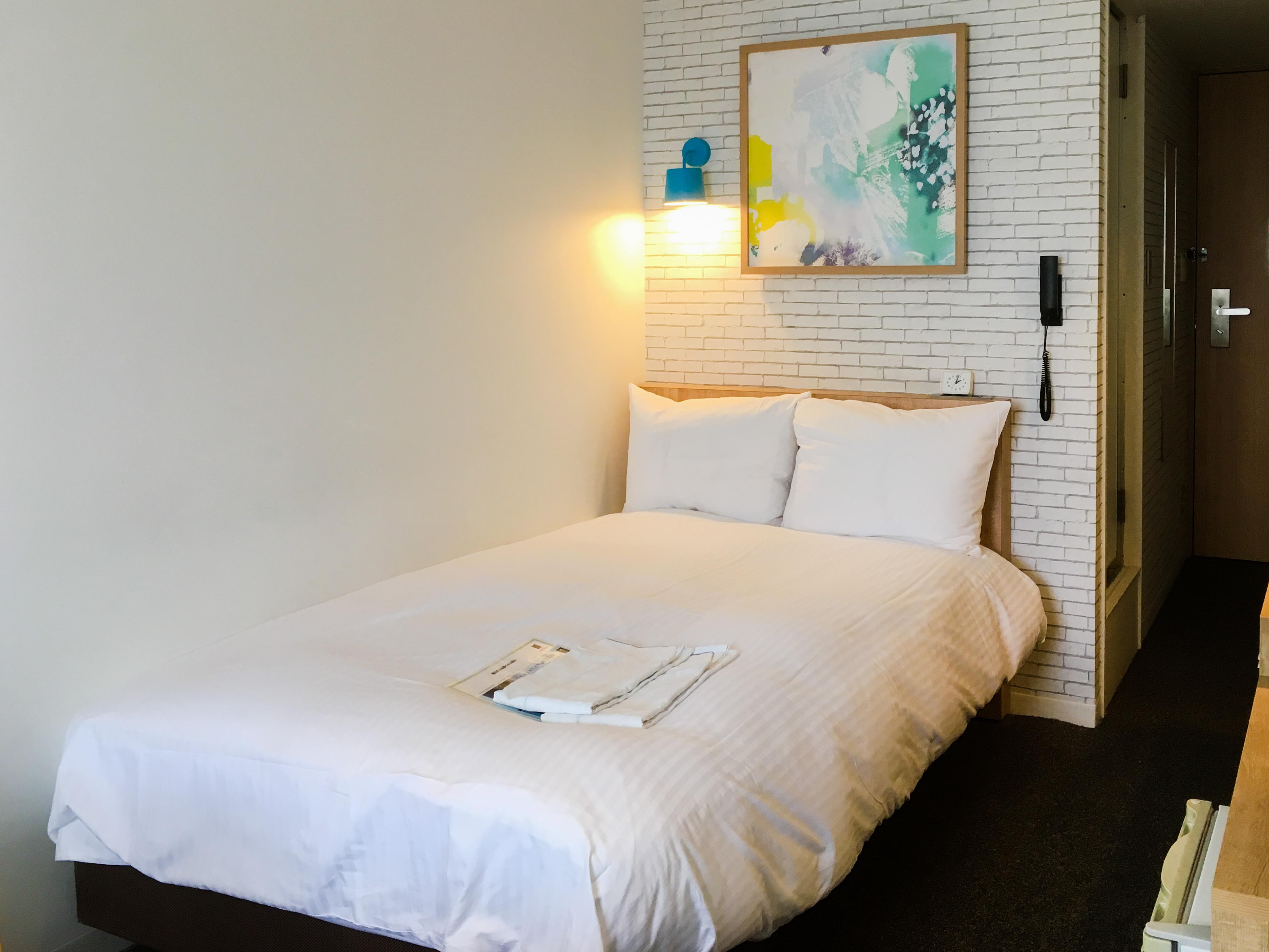 ホテルプラムのベッド
