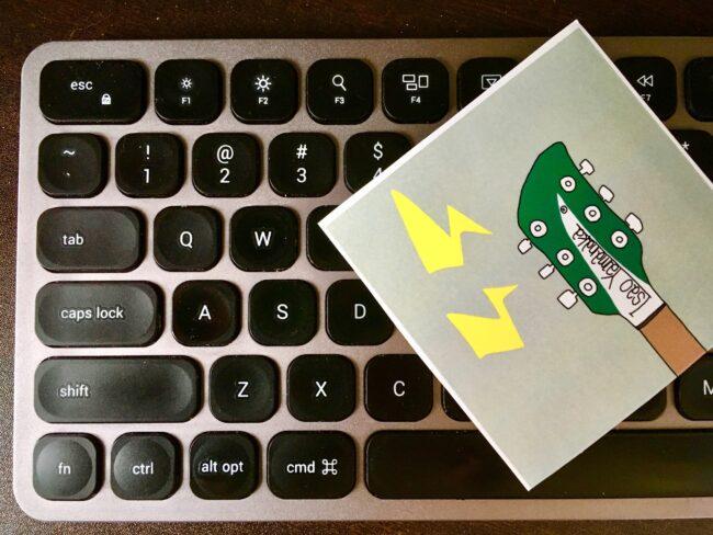 Satechi ワイヤレスキーボードレビュー!Macと好相性で安定感抜群