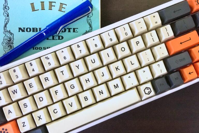 Niz plum68のキーキャップ交換と購入のポイントをチェック